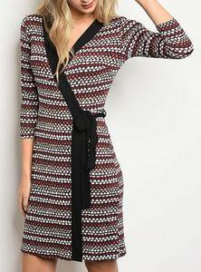 GILLI Faux Wrap Dress